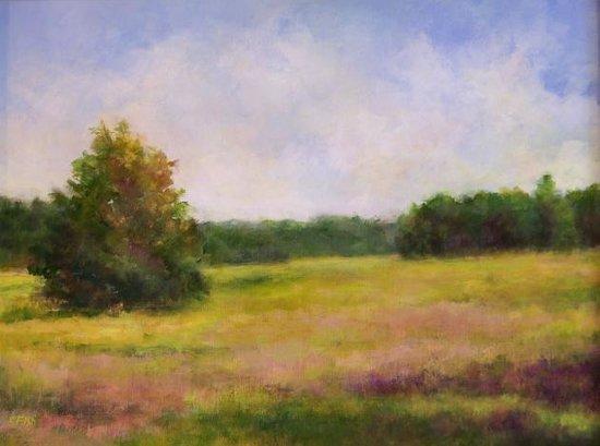 Farmington Valley Arts Center: Landscapes, studio 2B artist Claire Fish