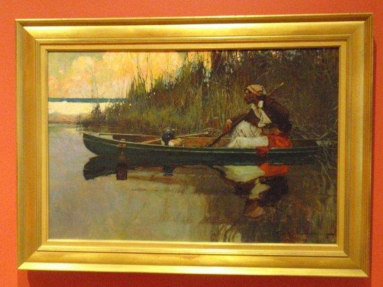 Biggs Museum of American Art: The Pirate, 1911 - Frank E. Schoonover (1877-1972)