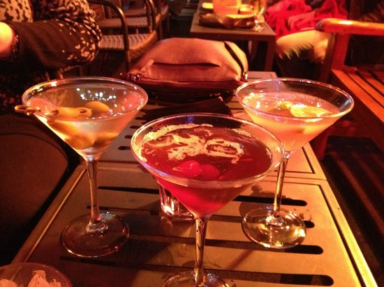230 Fifth: Dirty Martini, Manhattan and Cosmo! All yummy