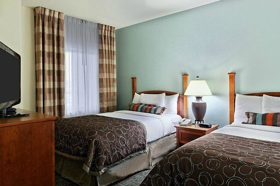 Staybridge Suites Ft. Lauderdale Plantation: Double Beds