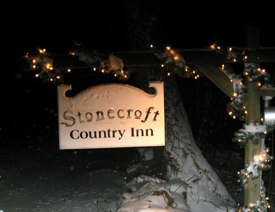 Stonecroft Country Inn : Winter at the Inn