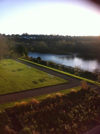 Ednam House: View from room 3