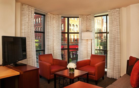 Residence Inn Syracuse Downtown at Armory Square: Centrally located Suite Hotel