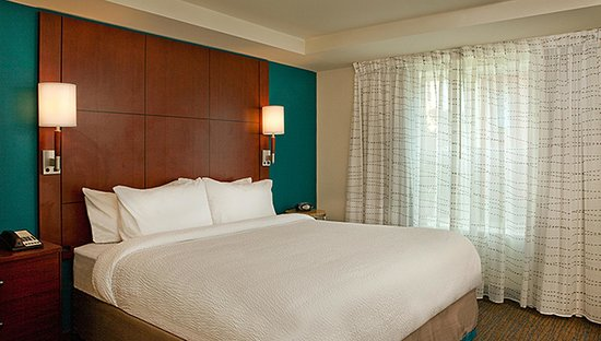 Residence Inn Syracuse Downtown at Armory Square: One and Two Bedroom Suites feature King Beds
