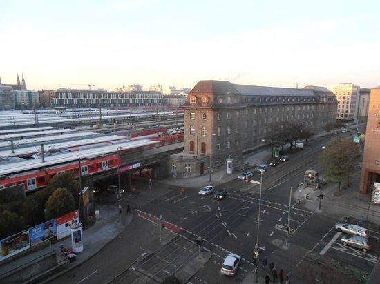Hotel Regent: VISTAS A LA ESTACIÓN CENTRAL (PISO 6º)