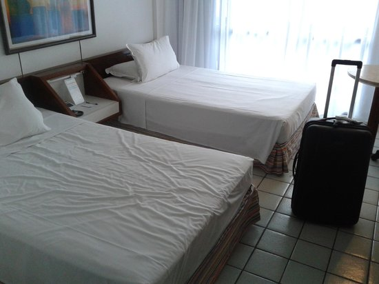Mar Hotel Conventions: Room with two twin beds