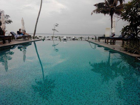 Deshadan Backwater Resort : Infinity pool