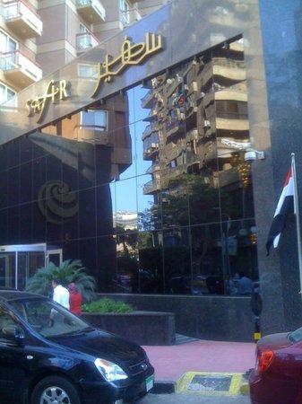 Safir Hotel Cairo : entrance