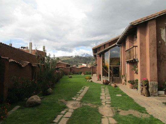 La Casa de Barro Lodge & Restaurant: vue du jardin