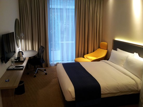 Holiday Inn Express Singapore Orchard Road: Nice new decor