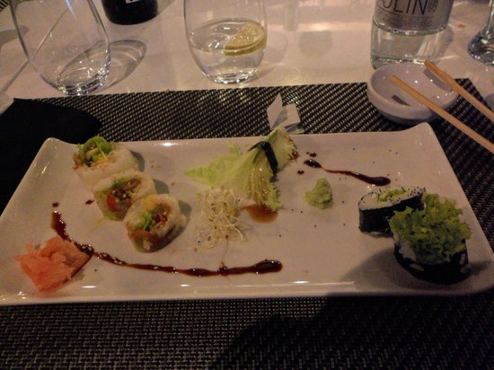 Sushilounge: Vegetarian sushi
