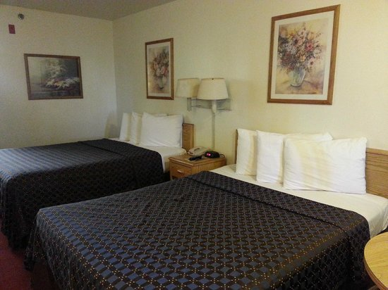 Red Roof Inn Corpus Christi South : Basic double bed room