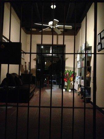 La Casa del Farol Hotel Boutique: entrada