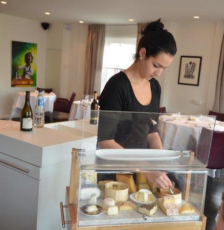 Restaurant de Lindehof: kaaswagen