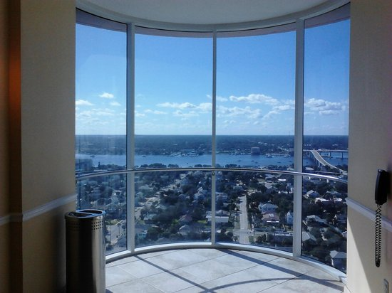 Top Floor Window View Outside Elevator Picture Of Wyndham Ocean Walk Daytona Beach Tripadvisor