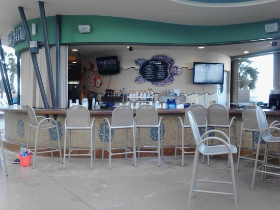 Wyndham Ocean Walk Tiki Bar Near Pools