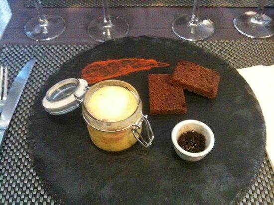 L'Alchimie Restaurant: foie gras