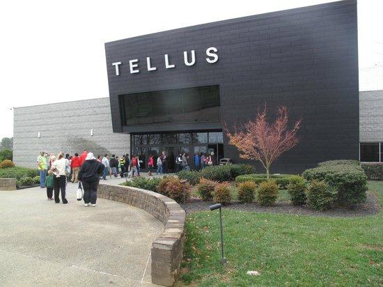 Tellus Science Museum : Tellus entrance