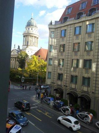Regent Berlin: Zimmeraussicht