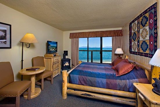 Tahoe Lakeshore Lodge and Spa : Hotel room Single Queen