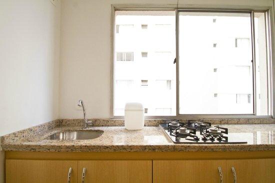 Oscar Freire Suites Sao Paulo : Cozinha do apartamento