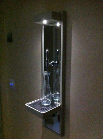 Relais del Borgo Hotel & SPA : Acqua spillata
