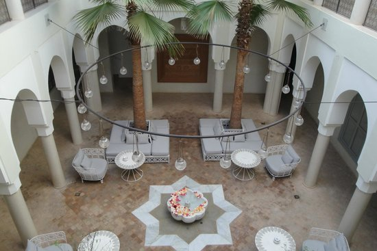 Riad Nashira & Spa: Patio interior