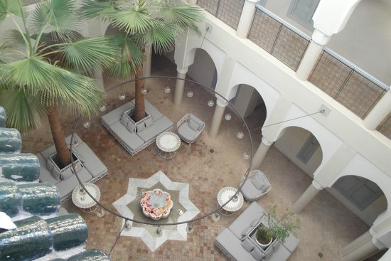 Riad Nashira & Spa : Patio interior