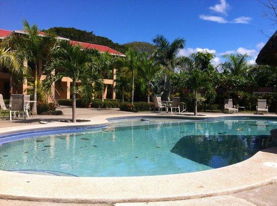 Marbella Surf Inn : Poolside