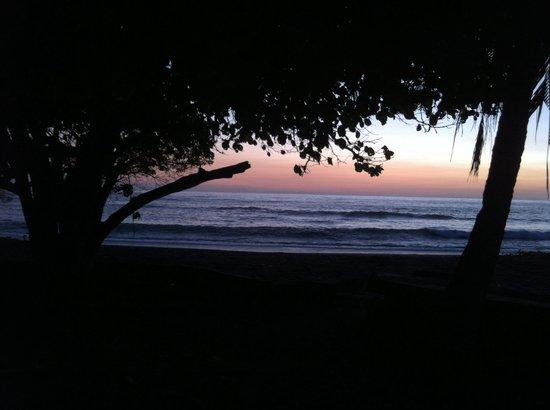 Marbella Surf Inn : Sunset at Marbellasurfinn