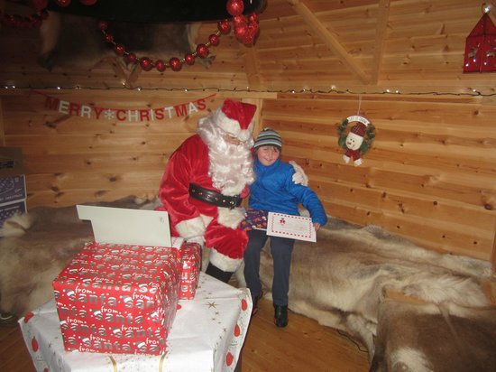Santa gets a long list Picture of Wallaby Woods Donadea Kildare