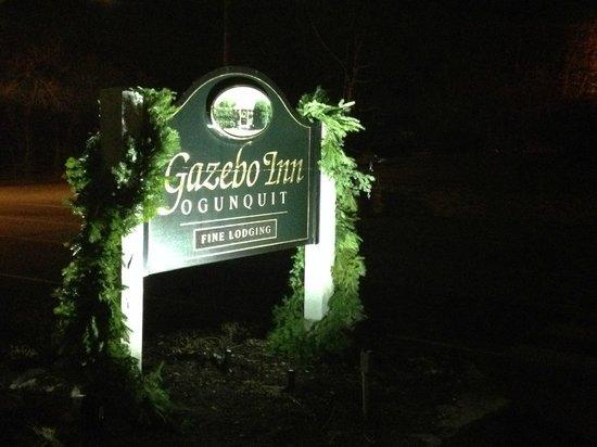 Gazebo Inn Ogunquit: Gazebo Inn sign