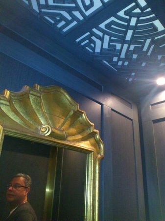 Hotel Lombardy: Elegant  elevator