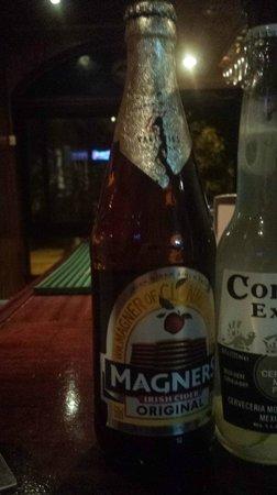 Champions Bar : Magners cider - tasty!