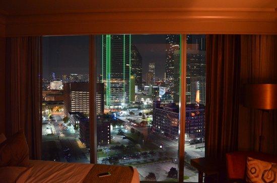 Omni Dallas Hotel: View from room 1855