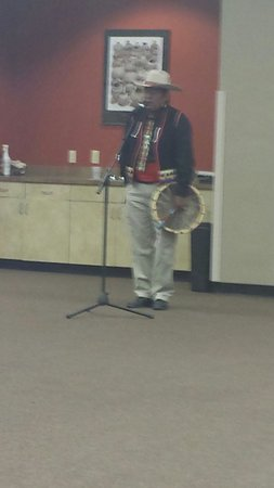Indian Pueblo Cultural Center: The host