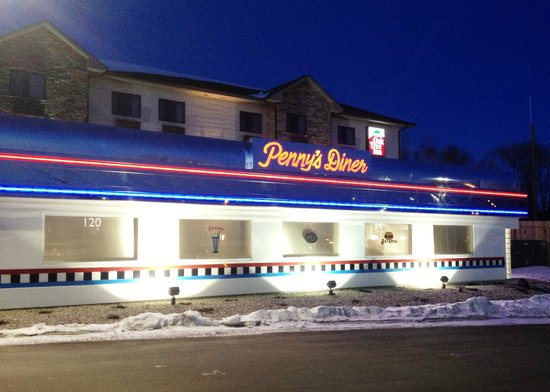 Penny's Diner Exterior