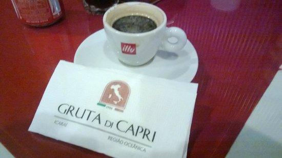 Gruta di Capri: Café Expresso