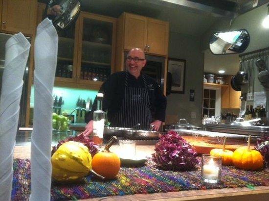 EVOO Cannon Beach Cooking School: Bob Neroni..Chef
