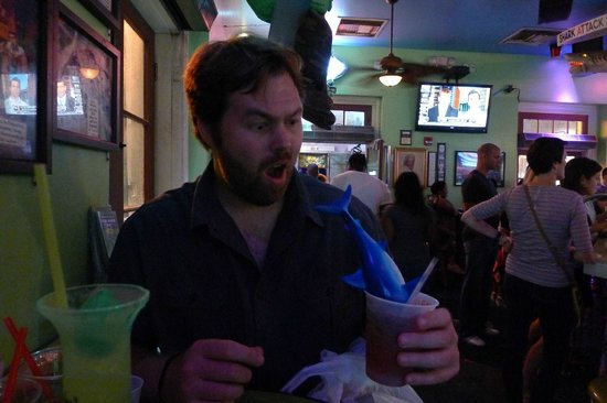 Bourbon Street: shark attack 2!