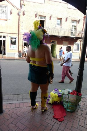Bourbon Street: yeah this is normal