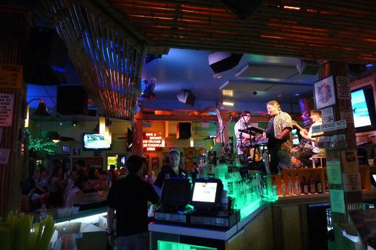 Bourbon Street: the bars are colorful, too