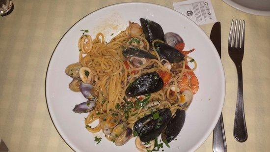 Lo Sfizio: Spaghetti ai frutti di mare !