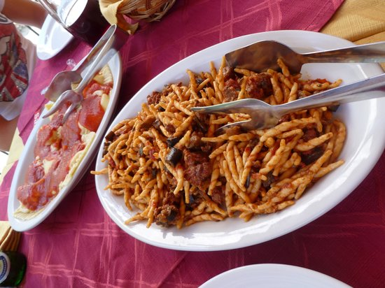 Ristorante Al Caminetto: Fusilli with chingiale or wild boar