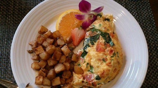 Bourbon Orleans Hotel: Frühstück