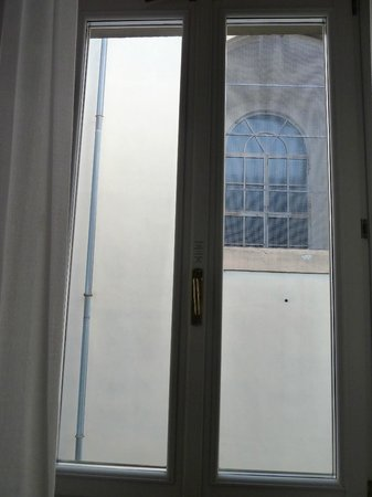 Bernini Palace Hotel : vista desde la habitación