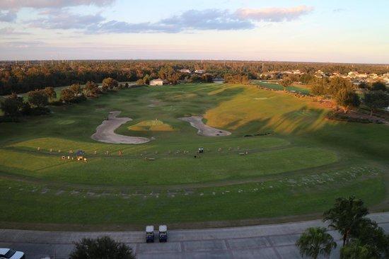 Reunion Resort of Orlando : View form the balcony