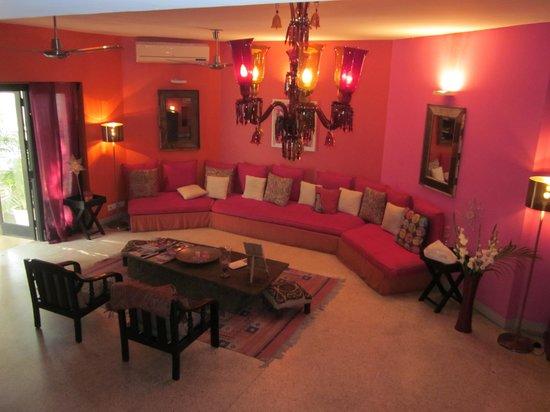 Amarya Villa: Partie communes bien décorées
