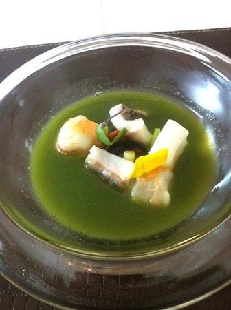 El Bohio: Spa de pescado con calda especiado