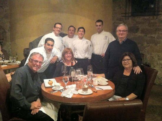 The Culinary Institute of America: Our lovely servers!